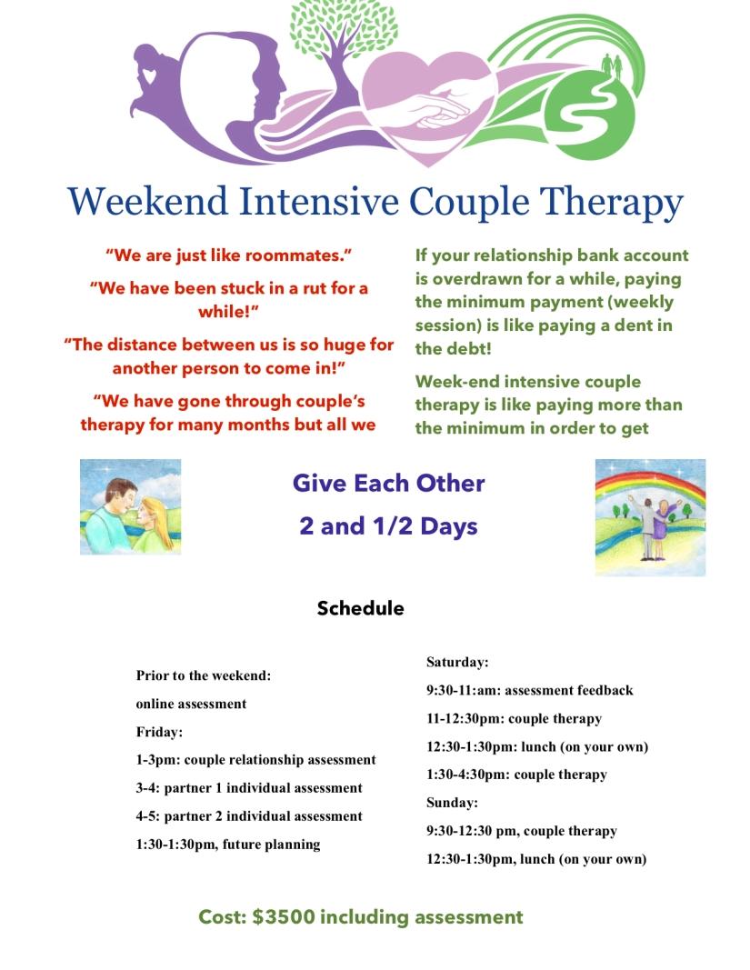 Intensive Couple Retreat website